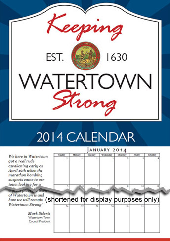 Watertown Strong Calendar